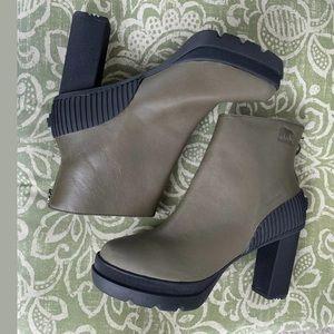 Sorel Shoes - NWOT SOREL Dacie Leather Waterproof Bootie 8.5